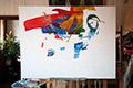 Pieta painting process