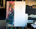 The Arnolfini Marriage painting process