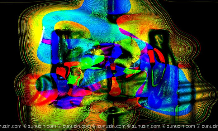 Digital Abstract Art Work - Idol