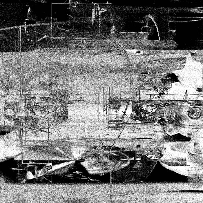 Black and white art prints - Coast
