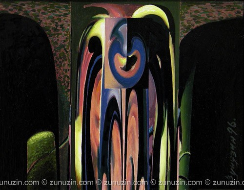 Abstract original paintings - Composition V