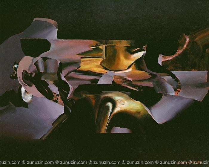 Original oil painting for sale - Irritation