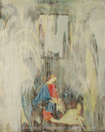 Buy original oil paintings on canvas - Morning VI