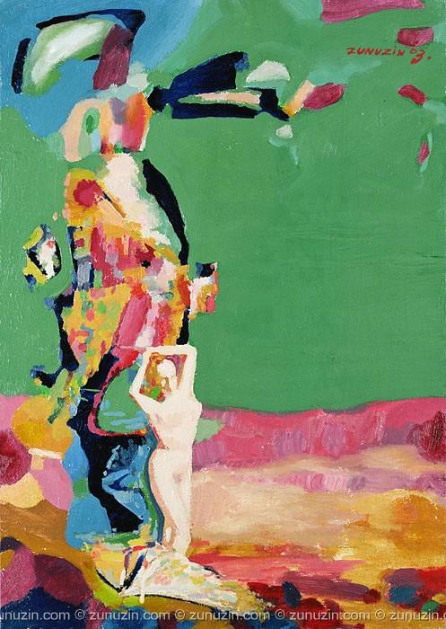Nude oil paintings - Venus