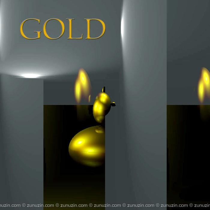 Digital poster - Gold