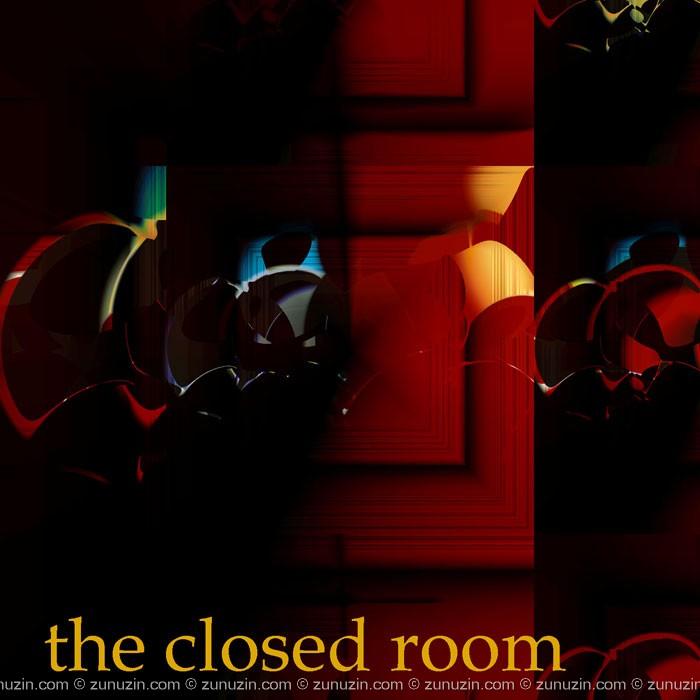 Art nouveau poster - Closed room