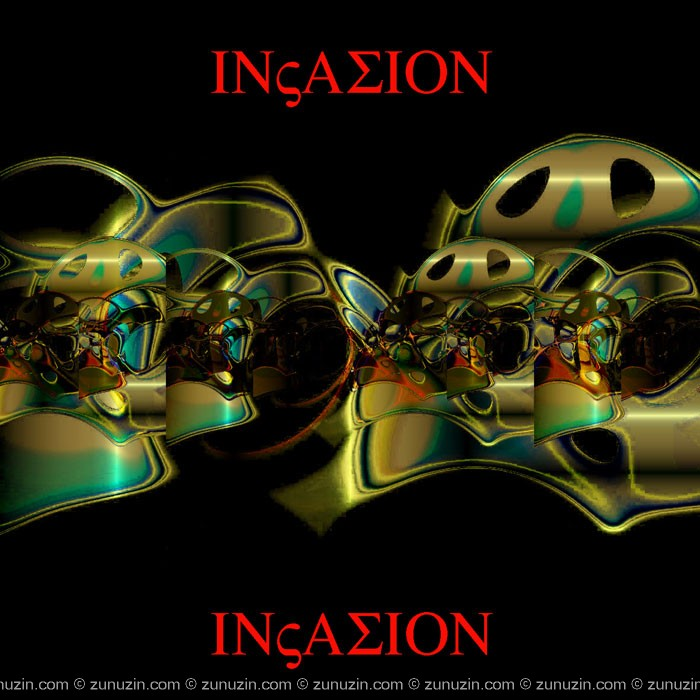 Signed poster - Invasion