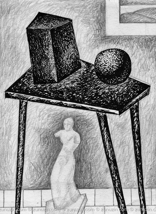 Still life drawing - Still life