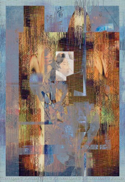 Digital images print - Portrait of a Beauty