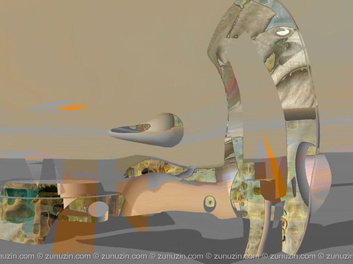 Digital fine art - Silence