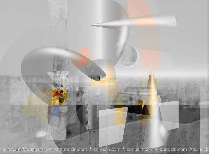 Digital art for sale - Disclosing of structure