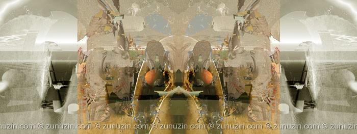 Digital computer art - Zone of dream