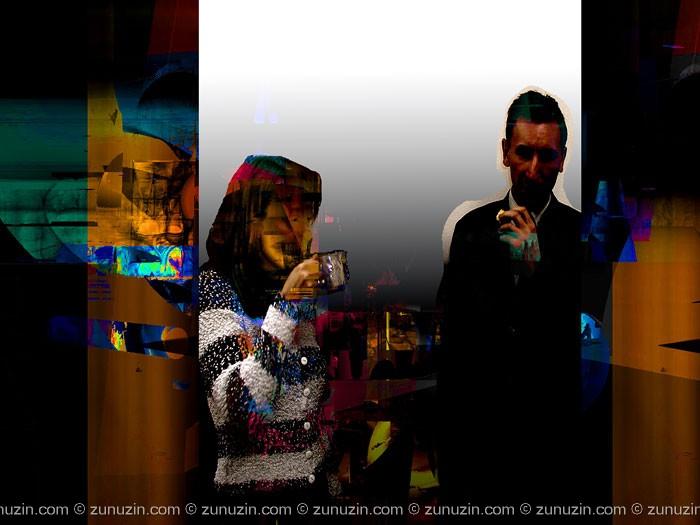 Digital art for sale - Night cafe IV
