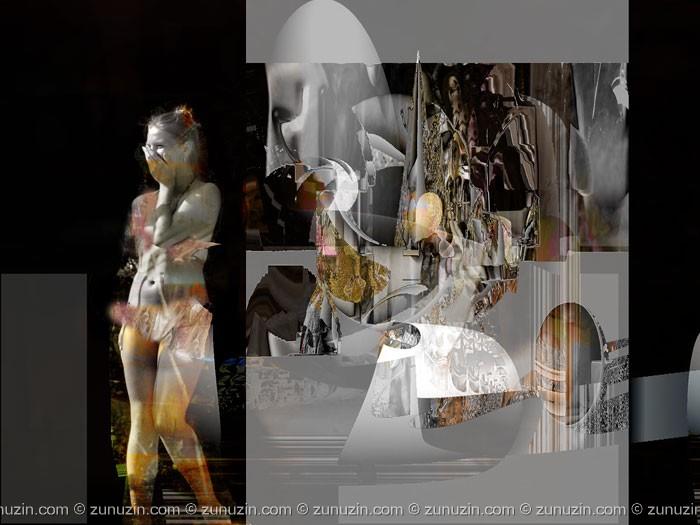 Order digital prints online - Model in artists workshop