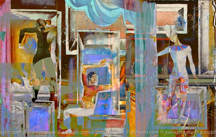 Digital art for sale - Theatre 1
