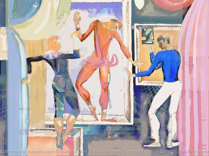 Digital art for sale - Theatre 3