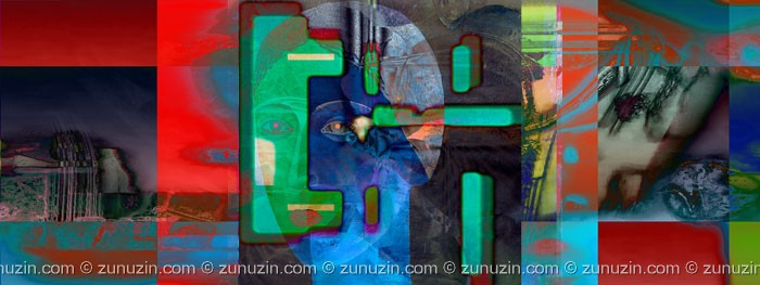 Art print for sale - Blue lady: Night desire
