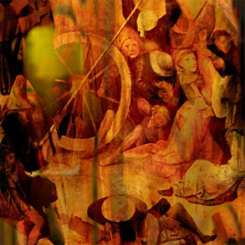 Fragment - Haystack (triptych) (Hieronymus Bosch Improvisation)