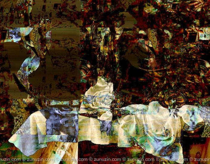 Digital art and postcard for sale - Process of knowledge
