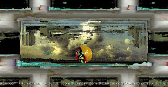 Digital art for sale - Reflection of the world