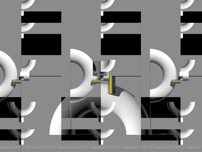 Digital art for sale - Mechanical partition