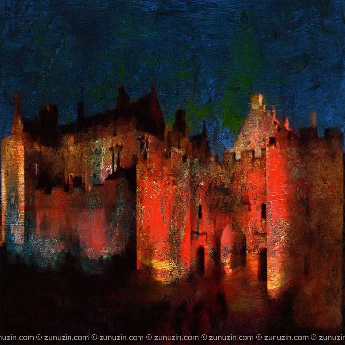 Castle Wall Poster for sale - Stirling Castle