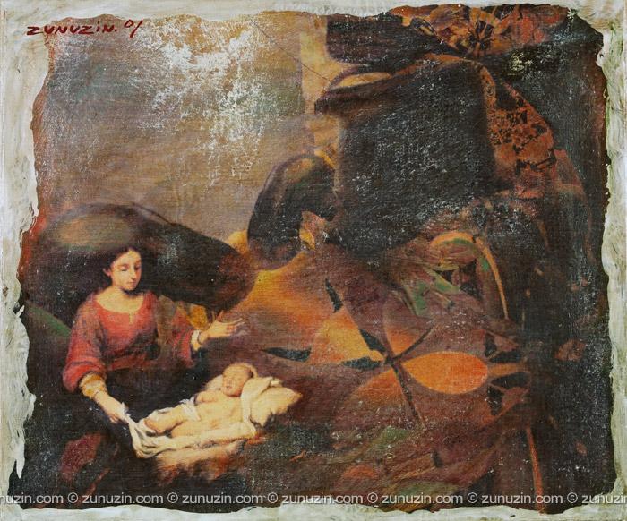 Paintings in oil - Morning II