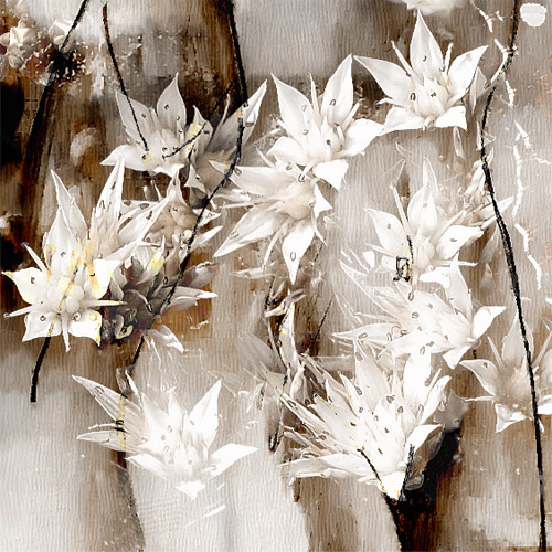 Fragment - Nude and White Lilies