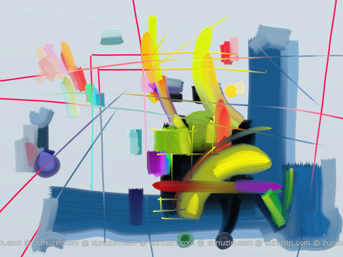 Abstract Geometric Art Prints - Circus