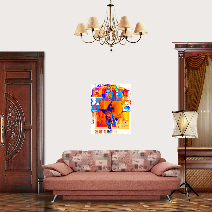 View in Room - Abstract portrait