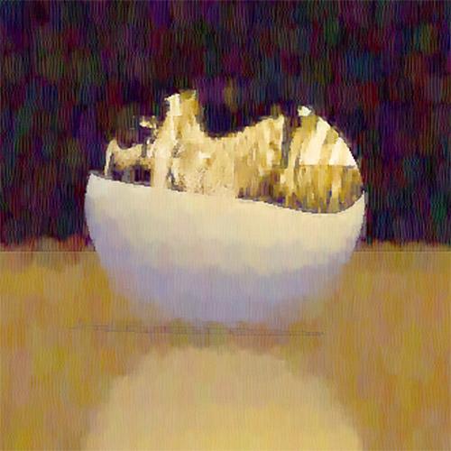 Fragment - Abstract still life