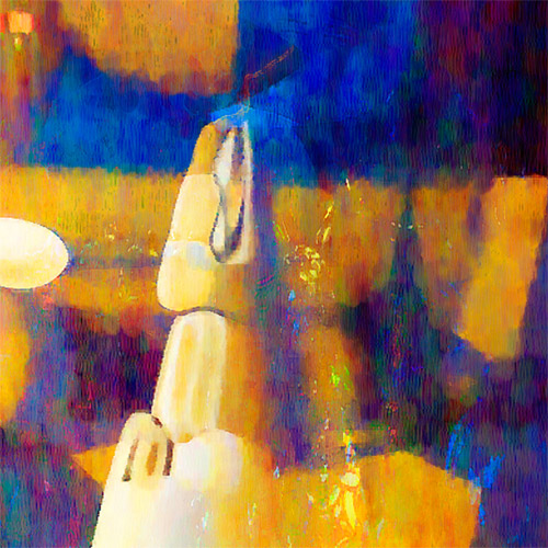 Fragment - Abstract still life #24