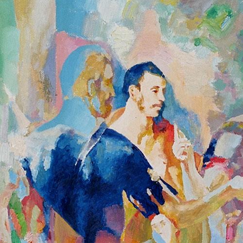 Fragment - Martyrdom of St Maurice (El Greco Improvisation)