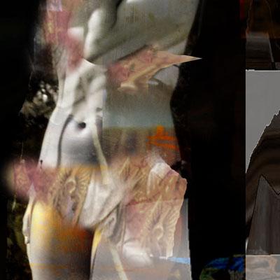 Fragment - Model in artists workshop