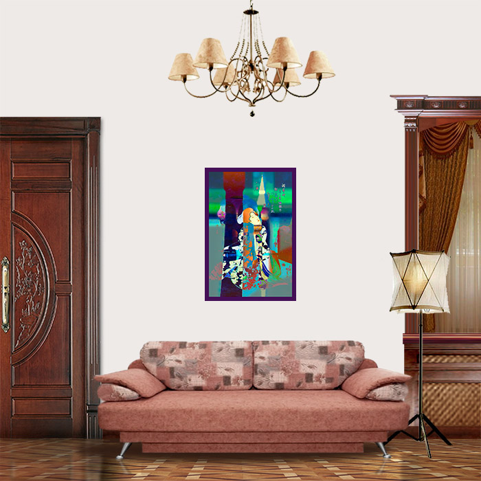 View in Room - The Young Geisha