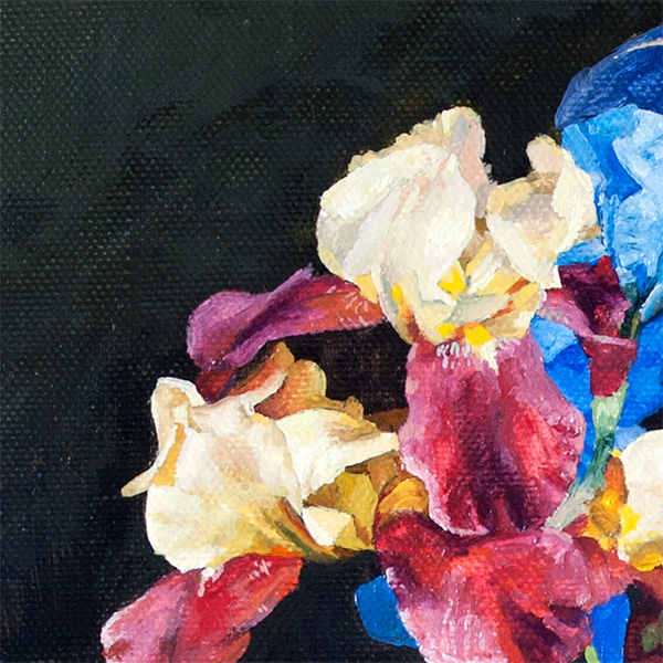 Fragment - Vase with Irises