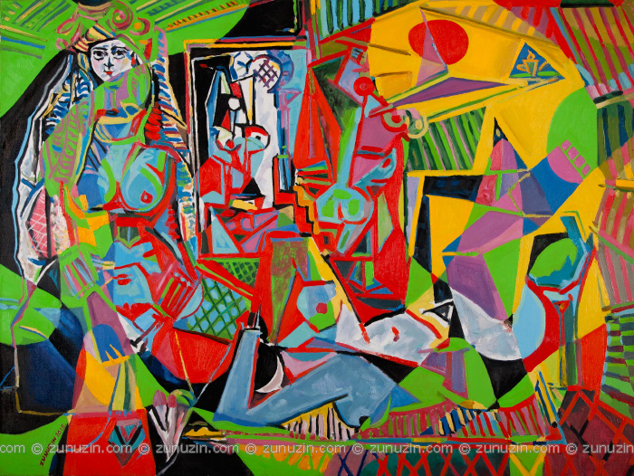 Les femmes d'Alger, Version O (Reflections on works by Pablo Picasso)