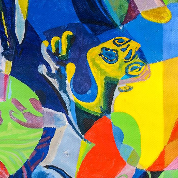 Fragment - Rape of the Sabine Women