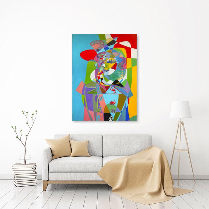 View in Room - Portrait de Nush Eluard