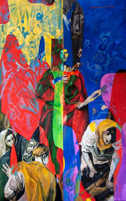 Disrobing of Christ (El Greco Improvisation) 2
