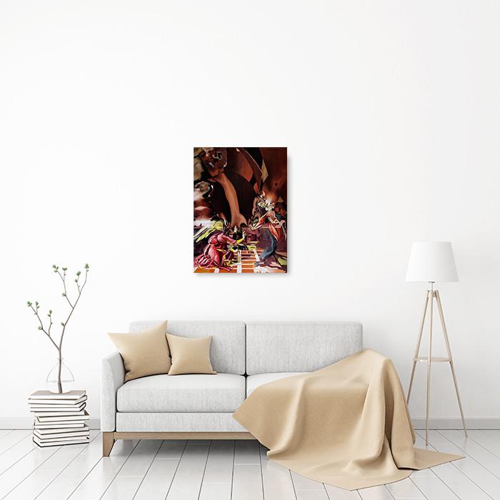 View in Room - Annunciation (Botticelli Improvisation)