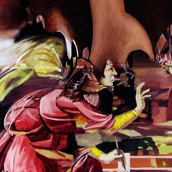 Fragment - Annunciation (Botticelli Improvisation)