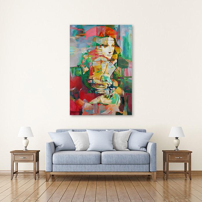 View in Room - Lady with Ermine (Leonardo da Vinci Improvisation)