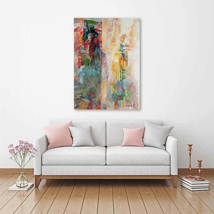 View in Room - The Arnolfini Marriage (Jan Van Eyck Improvisation)
