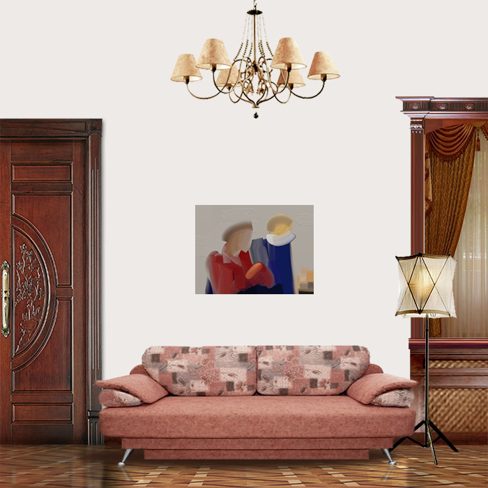 View in Room - Two Figures of the Renaissance