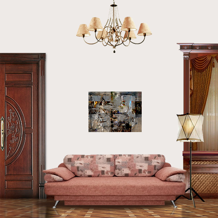 View on Room - Improvisation from Jan Vermeer Van Delft