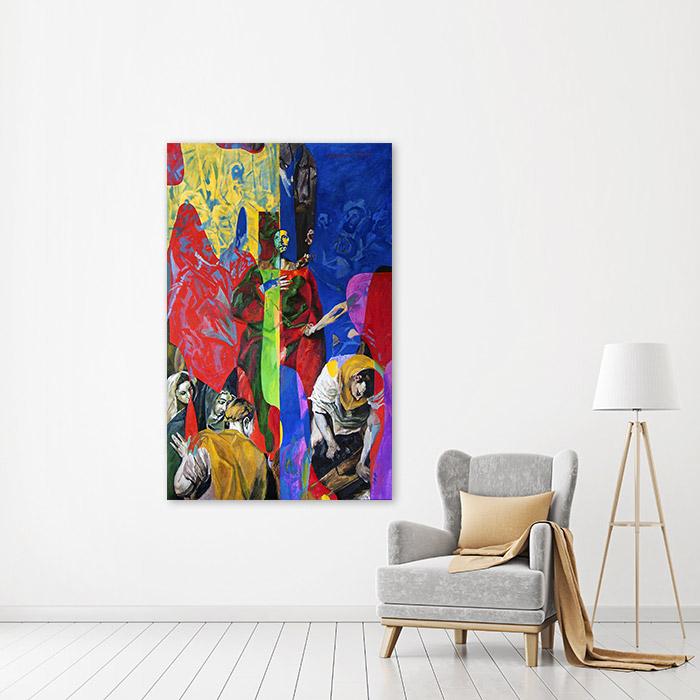 View in Room - Disrobing of Christ (El Greco Improvisation) 2