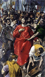 El Greco - Disrobing of Christ