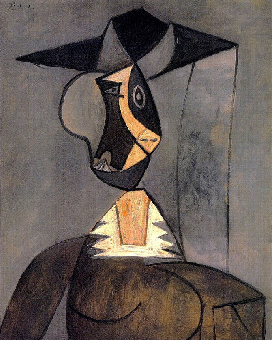 Pablo Picasso - Woman in gray