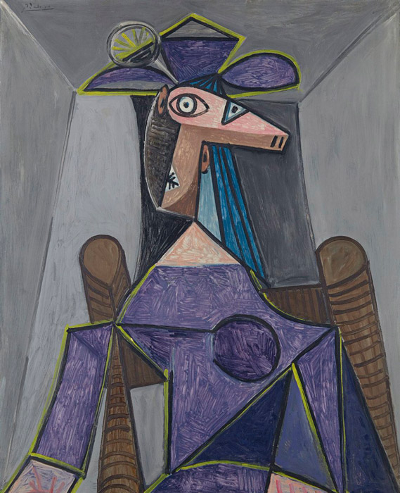 Pablo Picasso - Portrait of a Woman (Dora Maar)